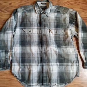 Men's Eddie Bauer Legend plaid long sleeve shirt
